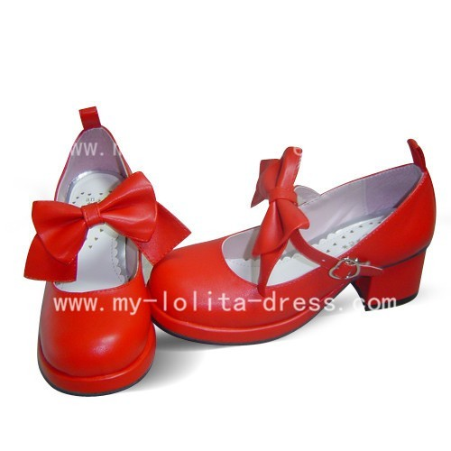 Beautiful Sweet Red Cardcaptor Sakura Shoes