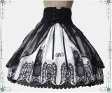 Vingtage Cross & church Skirt - IN STOCK