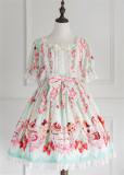 Strawberry Feast- Sweet Lolita OP Dress