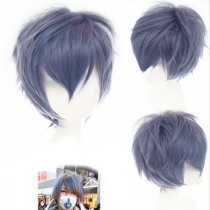Boy's Greyish Brown Sweet Short Lolita Wig