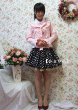 Sweet Barbie Pink Lolita Mini-Jacket