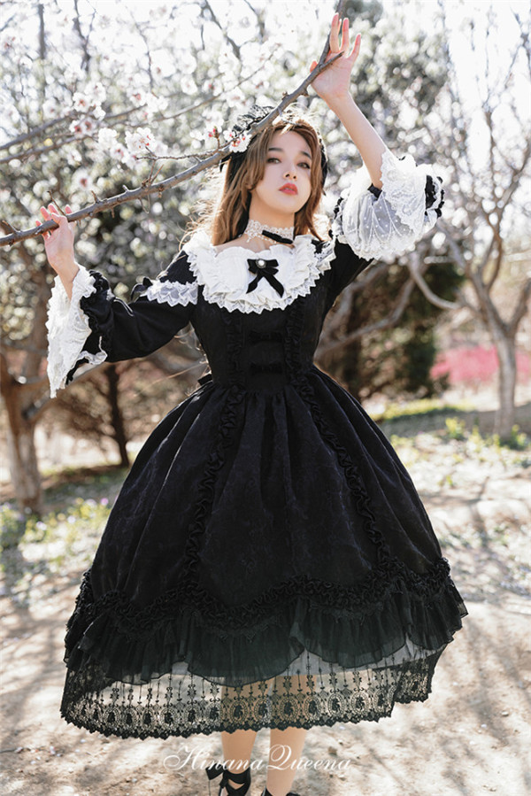 HinanaQueena ~Fanna~ Luxuxy Lolita OP -Pre-order