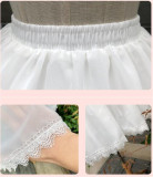 Summer Fishbones Lolita Petticoat Adjustable 47cm