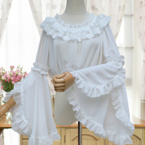 Chiffon Tailored Hime Sleeves Lolita Inner Blouse