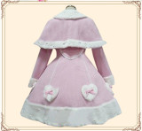 Sweet Single Breasted Winter Lolita Long Coat
