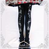 Ruby Rabbit ~Thorns Corolla ~ Lolita Printed Tights