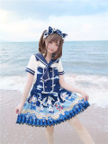 Tommy Bear ~ Kitty Sailor Cute Lolita JSK