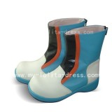 Sweet Colourful Ankle Boots
