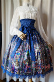 Rosary~ Elegant Lolita High Waist Fishbone Skirt