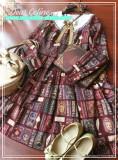 Aisha's Magic Book~ Long Sleeves Lolita OP -Ready Made