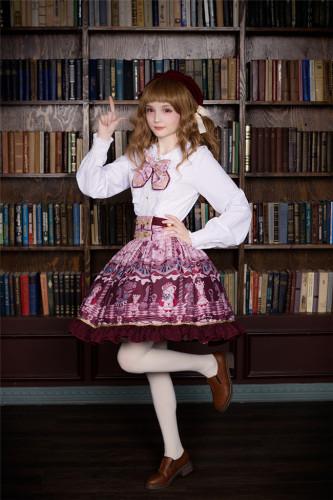 Chocolate Bear~ Lolita Printed Skirt