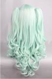 Sweet Green Lolita Curls Wig with Two Ponytails