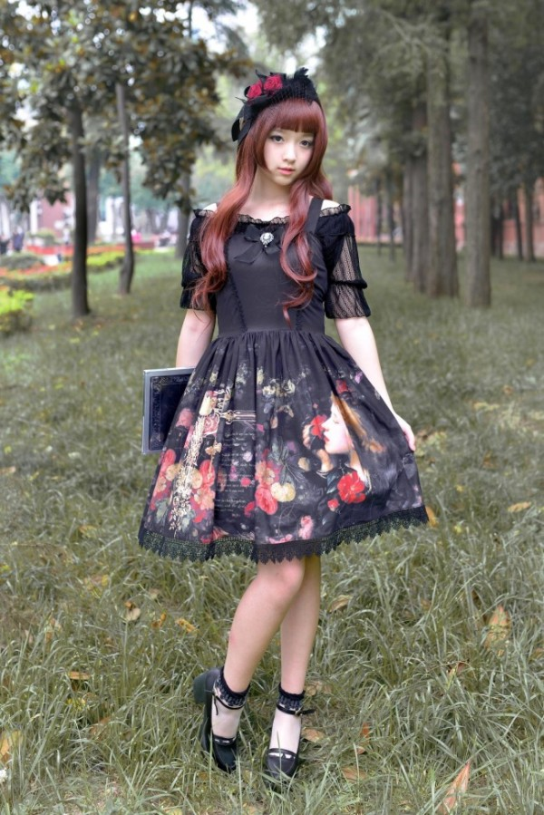 Neverland Lolita -Maiden's Garden- JSK + Headbow Set