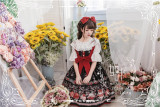 Strawberry Fruit Tea Lolita JSK -Pre-order Closed