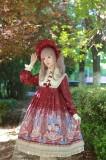 Honey Honey Lolita***Cats' Astrology*** Lolita High Waist OP -Ready Made