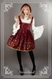 Neverland Lolita ~Golden Swan Lake~ Gold Stamping Lolita Corset JSK
