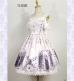 Nightmare Spells~ Lolita JSK Dress With Back Open Design