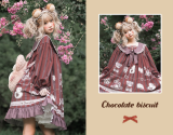 Chocolate Cookie ~Sweet Lolita OP -Ready Made