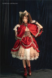 Lilith House ~The Little Hunter in Red Riding Hood ~ Lolita OP/Cape/Underskirt -Ready Made
