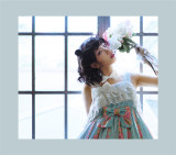 Rose Garden~ Sweet Lolita High Waist JSK Dress - Pre-order