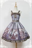 Neverland Lolita ~Steampunk Cat~ Lolita Normal Waist JSK Dress -Pre-order