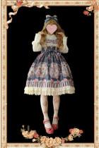 Flower Fairy~ Sweet Lolita JSK + Headbow - In Stock