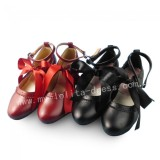 Sweet Red or Wine Lolita Heels Shoes