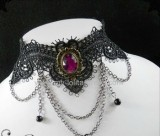 Gothic Lace Lolita Choker 4 colors
