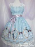 Chess Story Fairy in the Air Chiffon Lolita JSK Dress