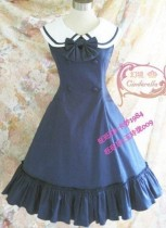 College Style Lolita Jumper Dress