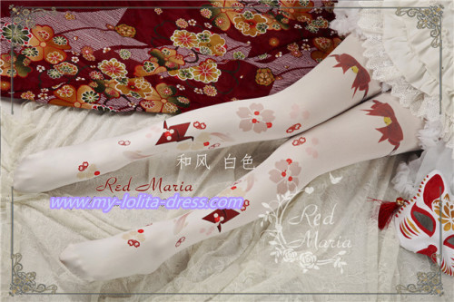 Goldfish ~Sweet Lolita Printed Tights
