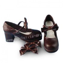 Sweet Chocolate Lolita Heels Shoes