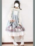 Rural Duck~ Sweet Lolita OP/JSK -Ready Made