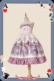 Infanta ~Circus Printed Lolita Jumper -Ready Made