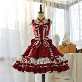 Doris Night Lolita ~Bellflower Winter Vintage Lolita JSK -Pre-order -Closed