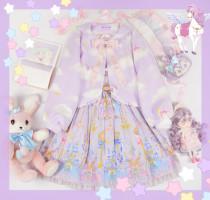 The Cloud Unicorn~ Sweet Lolita Skirt/Coat -Ready Made