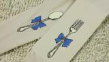 Mu Fish Knife and Forks Lolita Tights