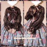 Aisha's Magic Book~ Soft Lolita Blouse -Ready Made