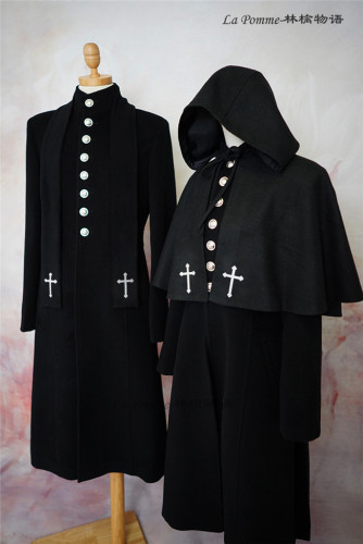 La Pomme ~Abstinence Series Stand Collar Lolita Coat