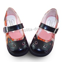 Pretty Kitten Cat Lolita Shoes