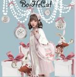 Mini Cat ~ Love Heart Canvas Bag
