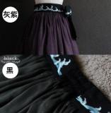 HMHM Lolita ~Embroidery Qi Lolita Skirt -Pre-order