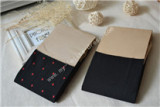 Harajuku Red Dots Black Overknee Stockings Lolita Tights