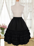 Chiffon Tailored Lolita A-shaped Lolita Skirt/Petticoat
