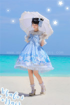 Avenue Denfer ~Whale & Corsair Printed Lolita JSK Version II -Ready Made