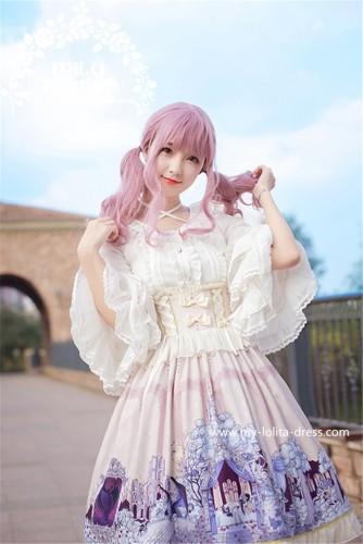 Sleeping Beauty~ Lolita High Waist Skirt