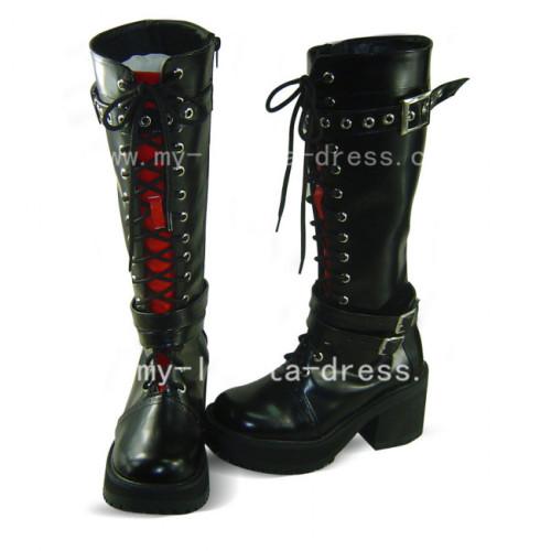 Gothic Black Axis powers Gilbert Beilschmidt Boots