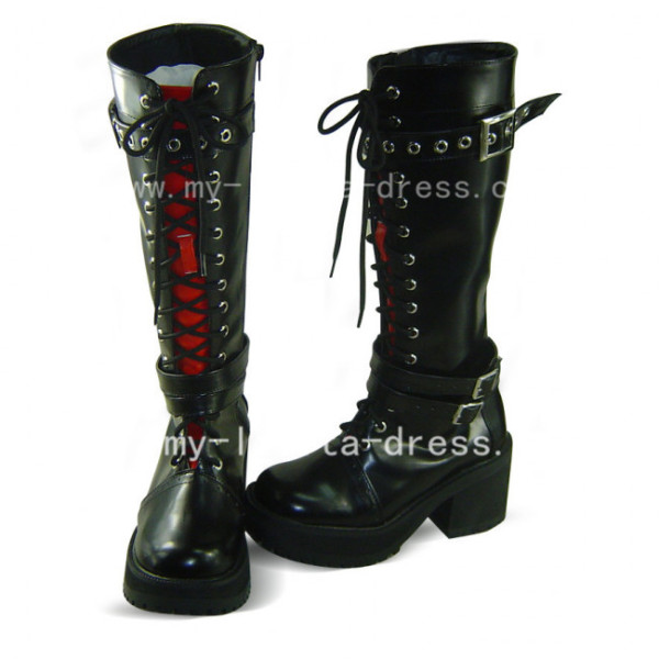 Gothic Black Axis powers Gilbert Beilschmidt Boots