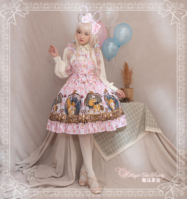 The Squirrel Couple's Afternoon~ Sweet Winter Dairywear Lolita JSK