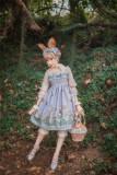 Fleurs et écho~Thumrabbit~ Lolita High Waist JSK